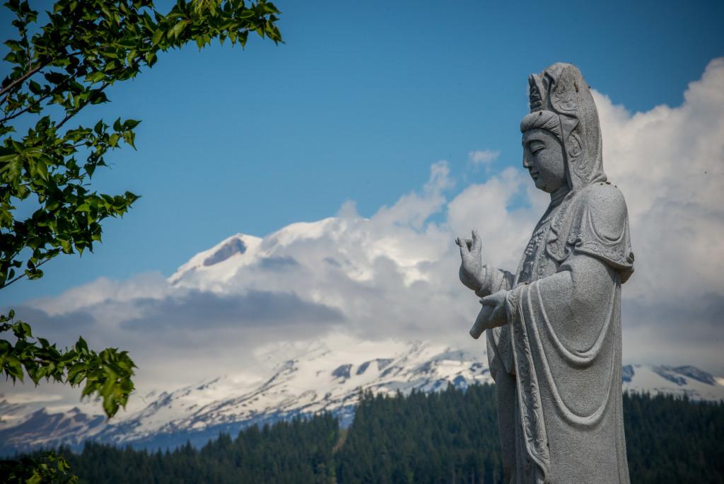 Quan Yin with the Mountain.