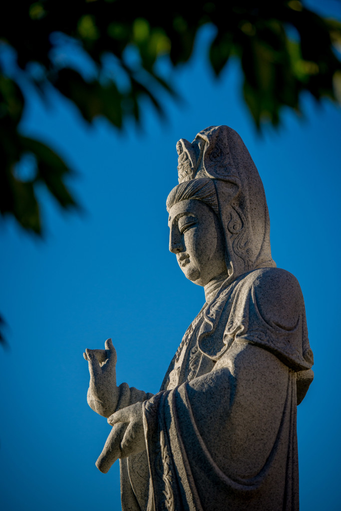 Quan Yin in the spring